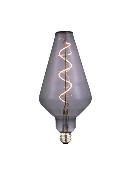 Żarówka XL LED z funkcją przyciemniania E27/4W, ciepła biel, Szary, transparentny, Ø 13 x W 23 cm