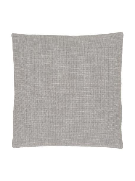 Federa arredo color grigio Anise, 100% cotone, Grigio, Larg. 45 x Lung. 45 cm