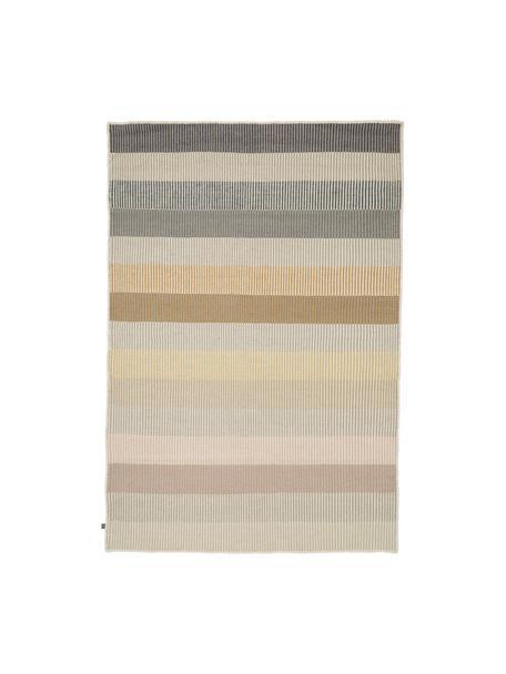 Alfombra kilim artesanal de lana Devise, 100%lana Las alfombras de lana se pueden aflojar durante las primeras semanas de uso, la pelusa se reduce con el uso diario, Multicolor, An 140 x L 200 cm(Tamaño S)