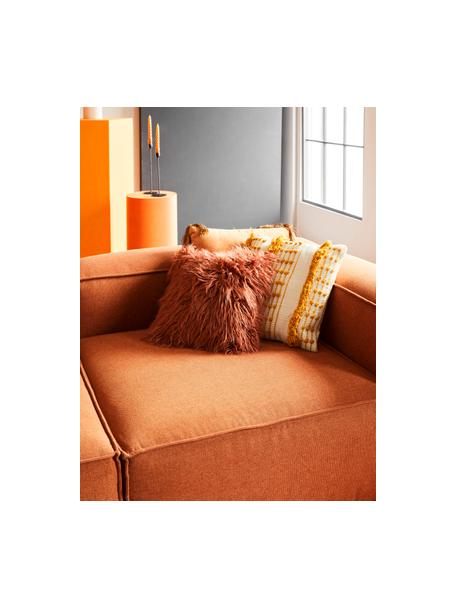 Funda de cojín Tulika, 100%algodón, Amarillo, crudo, An 45 x L 45 cm
