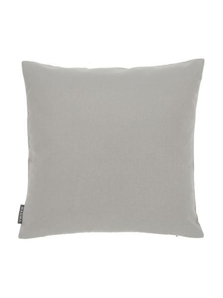 Federa arredo da esterno color grigio chiaro Blopp, Dralon (100% poliacrilico), Grigio chiaro, Larg. 45 x Lung. 45 cm