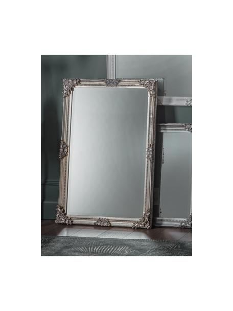 Espejo de pared Fiennes, con marco de madera, Espejo: cristal, Plateado, An 70 x Al 103 cm