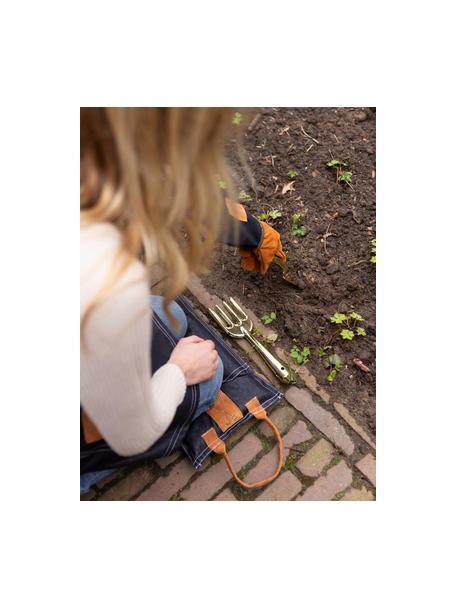 Set de herramientas para jardinería, 2pzas., Acero, Latón, An 8 x Al 27 cm