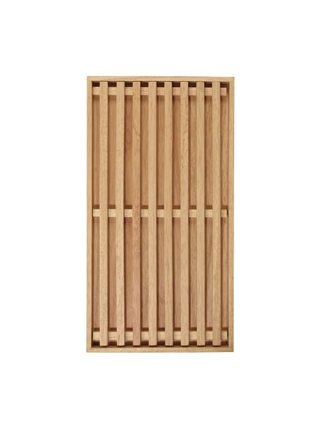 Tagliere per pane in legno Wood Light, 43x23 cm, Legno, Beige, Lung. 43 x Larg. 23 cm