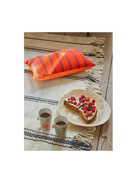 Set 2 tazze senza manico fatte a mano 70's, Gres, Multicolore, Ø 9 x Alt. 14 cm