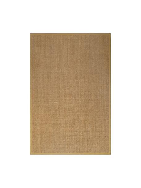 Sisalteppich Leonie in Beige, Flor: 100% Sisalfaser, Rückseite: Latex, Beige, B 200 x L 300 cm (Größe L)