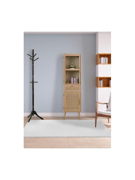 Perchero de pie Ole, Estructura: madera de abedul, Marrón, Ø 44 x Al 184 cm