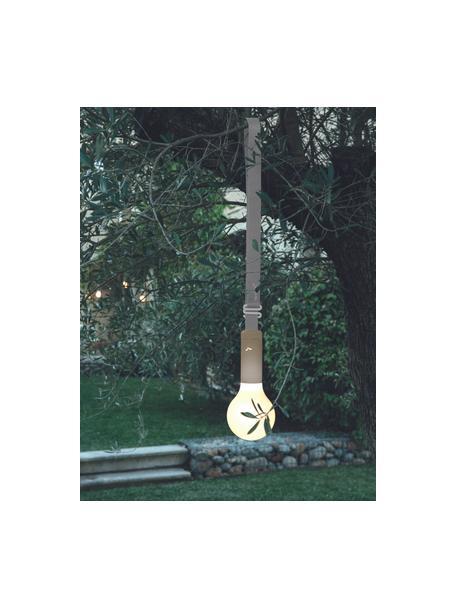 Pas do lampy zewnętrznej Aplô, Szary, gałka muszkatołowa, D 102 cm