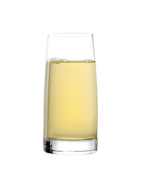 Szklanka ze szkła kryształowego Experience, 6 szt., Szkło kryształowe, Transparentny, Ø 7 x W 14 cm