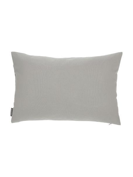 Poszewka na poduszkę zewnętrzną Blopp, Dralon (100% poliakryl), Jasny szary, S 40 x D 60 cm