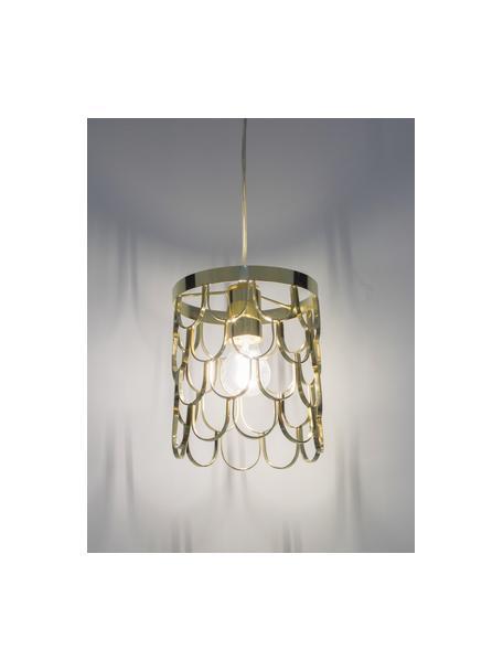Kleine Pendelleuchte Gatsby, Lampenschirm: Metall, Baldachin: Metall, Messing, Ø 18 x H 22 cm