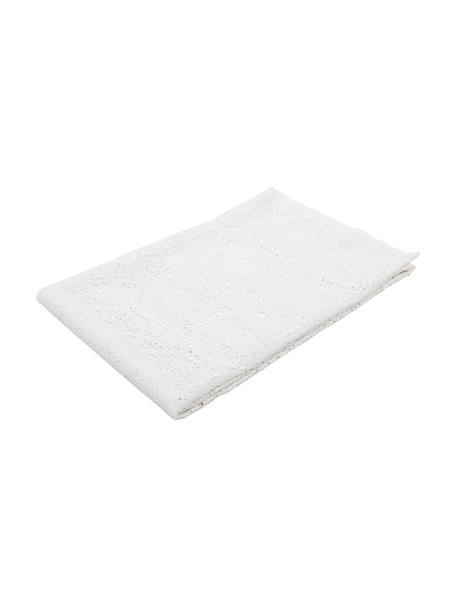 Kantelbaar tafelkleed Lara van gehaakt kunststof, PVC-kunststof in gehaakte look, Wit, Voor 8 - 10 personen (B 150 x L 264 cm)