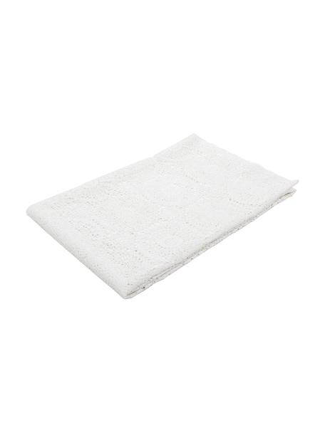Spitzentischdecke Lara in Häkeloptik aus Kunststoff, PVC-Kunststoff in Häkeloptik, Weiß, Für 6 - 10 Personen (B 150 x L 264 cm)
