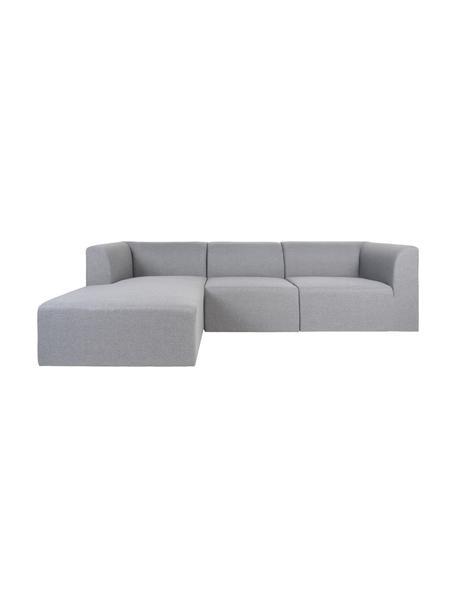 Sofa narożna Alba, Tapicerka: poliester 30000 cykli w , Szary, S 272 x G 190 cm