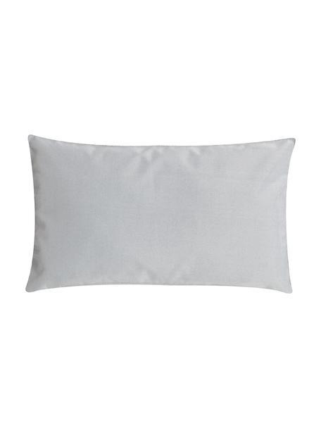 Zewnętrzna poduszka z wypełnieniem St. Maxime, Szary, czarny, D 30 x S 50 cm
