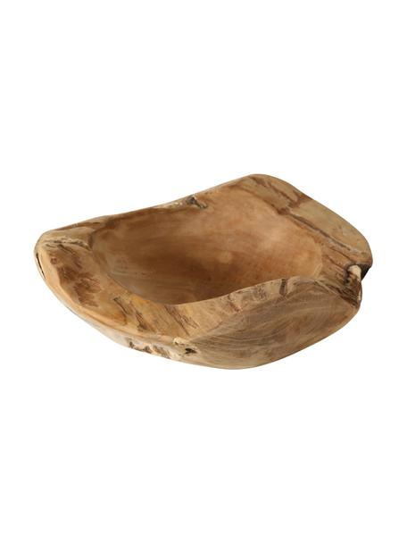 Miska dekoracyjna Teak, Drewno tekowe, Brązowy, Ø 25 x W 6 cm