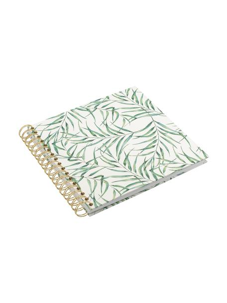 Album na zdjęcia Leaf, Biały, zielony, S 25 x W 22 cm