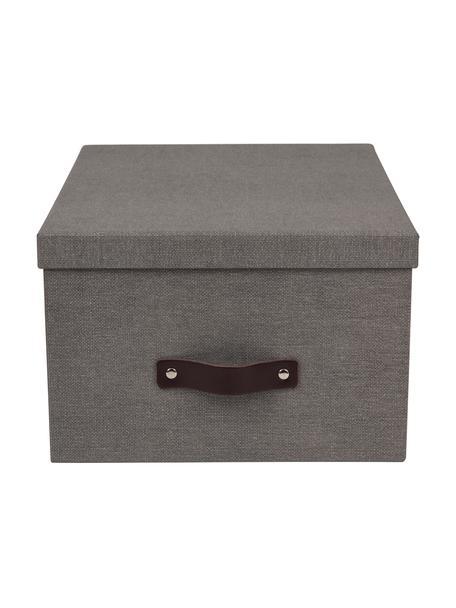 Pudełko do przechowywania Gustav II, Szary, S 30 x W 15 cm