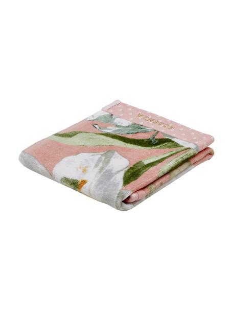 Ręcznik do rąk Rosalee, różne rozmiary, 100% bawełna organiczna, certyfikat GOTS, Blady różowy, biały, zielony, pomarańczowy, Ręcznik dla gości