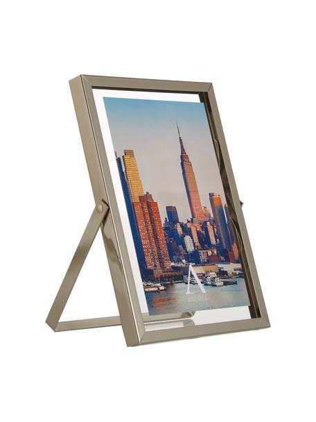 Bilderrahmen Marco, Rahmen: Metall, Front: Glas, Silberfarben, 13 x 18 cm