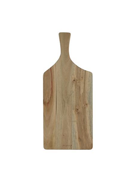 Akazienholz-Schneidebrett Limitless, L 50 x B 22 cm, Akazienholz, Akazienholz, 22 x 50 cm