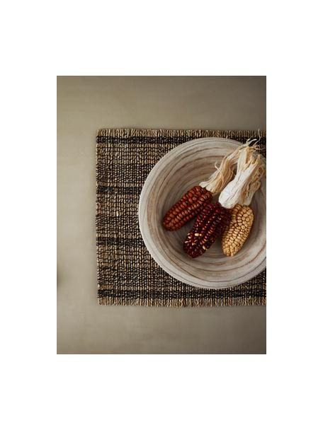Miska z drewna paulownia Sandry, Drewno paulownia, olejowane, Drewno paulowania, Ø 29 x W 8 cm