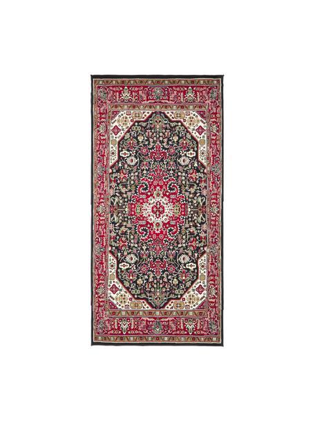 Loper Skazar Isfahan in Oriënt stijl, Rood, multicolour, B 80 x L 150 cm (maat XS)
