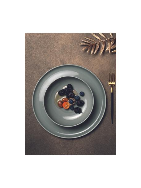 Cuencos de porcelana Kolibri, 6uds., Porcelana, Gris, Ø 13 x Al 6 cm