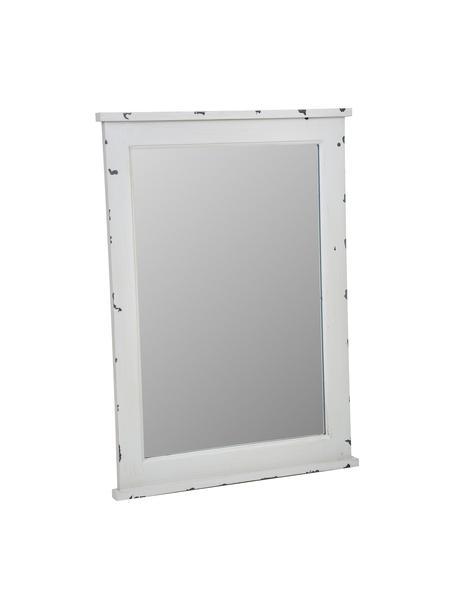 Espejo de pared Bill, Espejo: cristal, Gris efecto vintage, An 50 x Al 70 cm