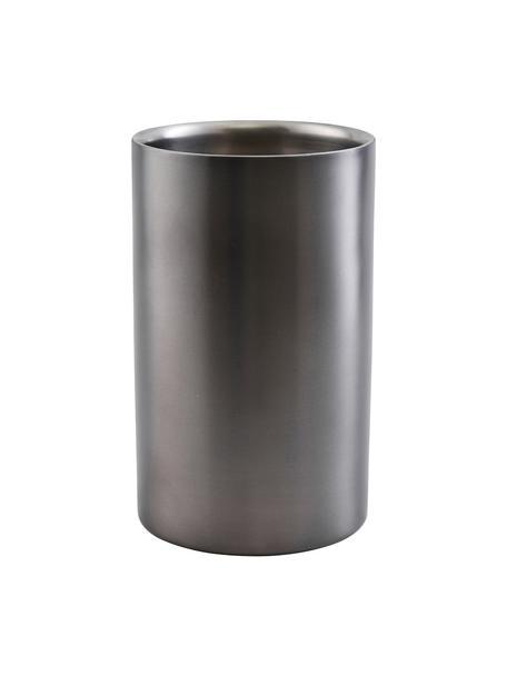 Flessenkoeler Gunmetal, Gecoat edelstaal, Antraciet, Ø 12 x H 20 cm