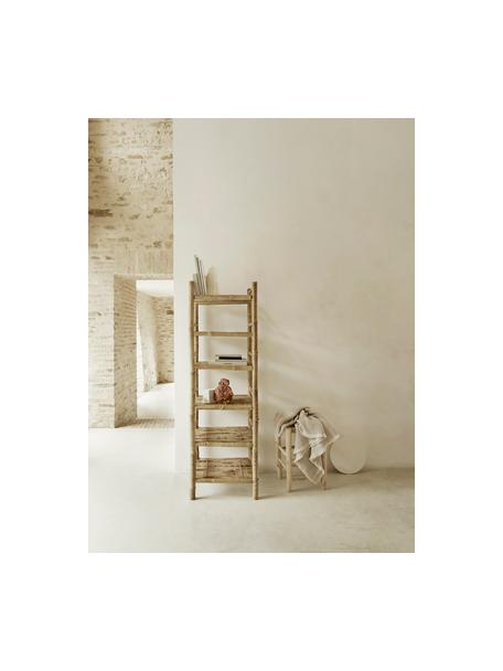 Libreria in bambù Bamra, Bambù, Marrone chiaro, Larg. 50 x Alt. 160 cm