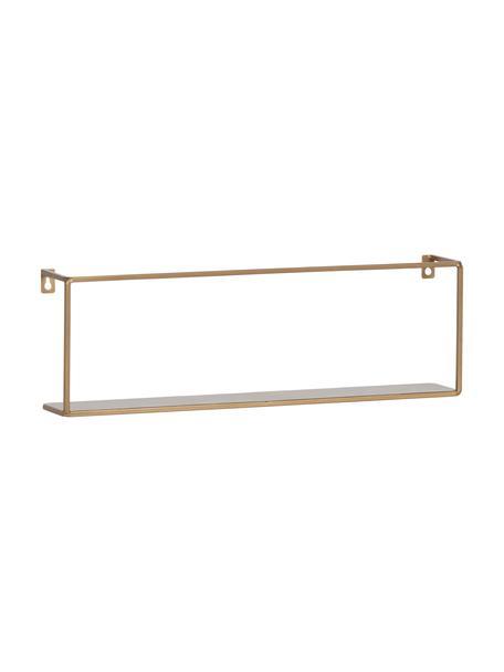 Metalen wandrek Meert, goudkleurig, Gepoedercoat metaal, Messingkleurig, 50 x 16 cm