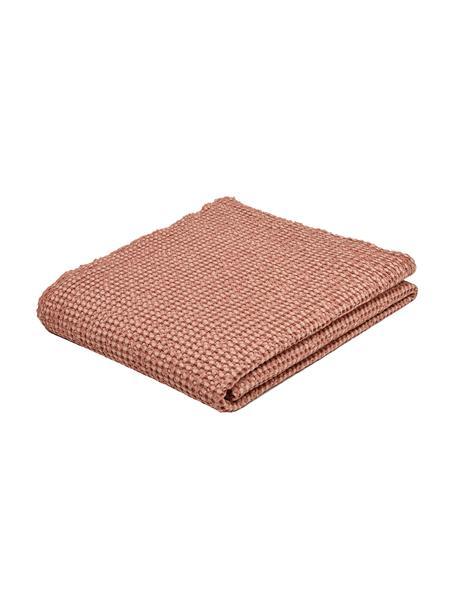 Copriletto in cotone rosa chiaro Vigo, 100% cotone, Rosa chiaro, Larg. 220 x Lung. 240 cm (per letti da 160 x 200)