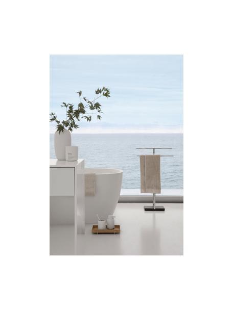Candela profumata Fraga (erbe dolci), Contenitore: cemento, Bianco, Ø 9 x Alt. 11 cm
