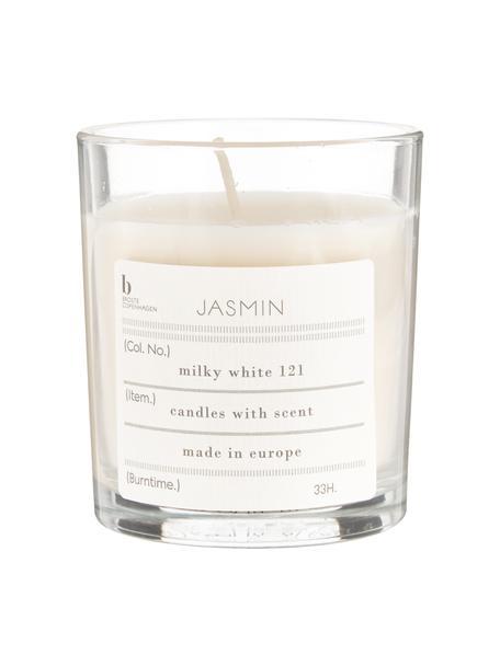 Świeca zapachowa Isabella (figa), Naturalny wosk sojowy, szkło, Jaśmin, Ø 8 x W 8 cm