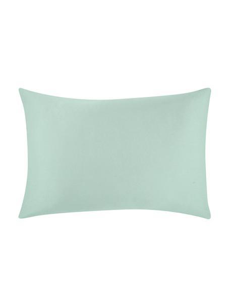 Funda de almohada de satén Comfort, 50x70cm, Verde salvia, An 50 x L 70 cm