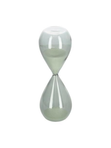 Sanduhr Jany aus Glas, Grau, Ø 7 x H 19 cm