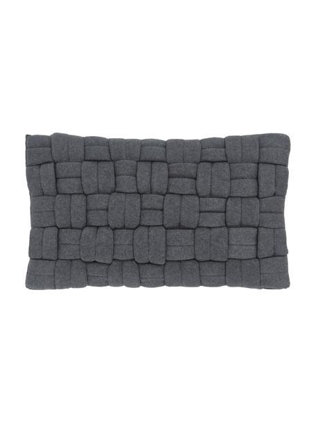 Federa arredo grigio scuro Norman, Grigio, Larg. 30 x Lung. 50 cm