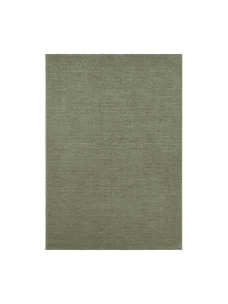 Tappeto verde muschio Supersoft, 100% poliestere, Verde muschio, Larg. 120 x Lung. 170 cm (taglia S)
