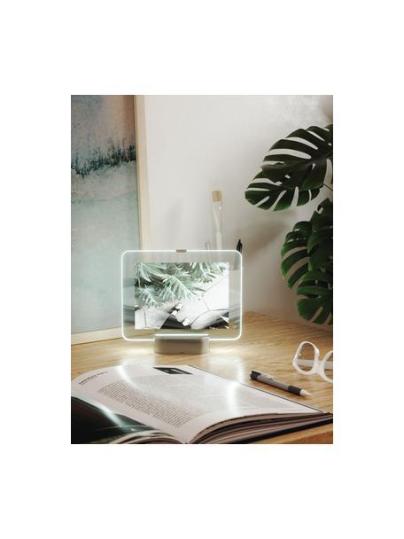 Marco LED Glo, Níquel, 13 x 18 cm