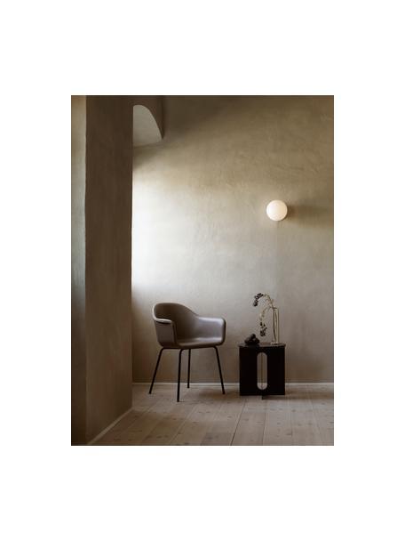LED-wand- en plafondlamp TR Bulb, Lampenkap: opaalglas, Messingkleurig, Ø 20 x D 22 cm