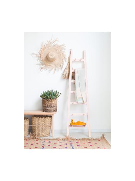 Regał drabinkowy Helia, Drewno sosnowe, powlekane, Blady różowy, drewno sosnowe, S 46 x W 170 cm