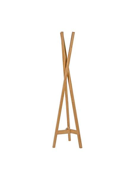Perchero de madera Clift, Madera de roble maciza, Roble, An 35 x Al 175 cm