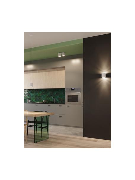 ApliqueValencia, Pantalla: aluminio con pintura en p, Blanco, An 10 x Al 10 cm
