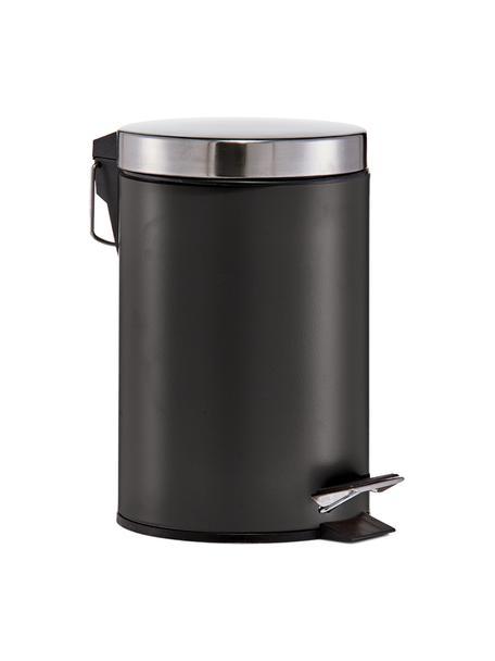 Papelera Ella, Negro, Ø 17 x Al 26 cm