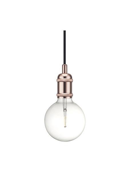 Lampada a sospensione ramata Avra, Baldacchino: materiale sintetico, Rame, Ø 5 x Alt. 10 cm