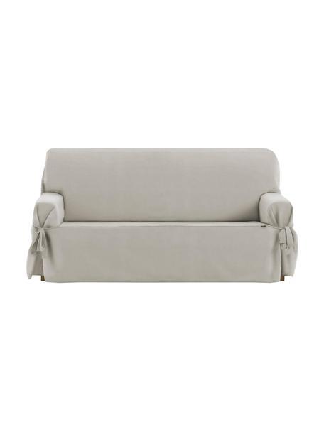 Pokrowiec na sofę Levante, 65% bawełna, 35% poliester, Szarozielony, S 160 x W 110 cm