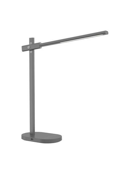 Lámpara de mesa Office, Estructura: aluminio recubierto, Cable: plástico, Negro, An 20 x Al 48 cm