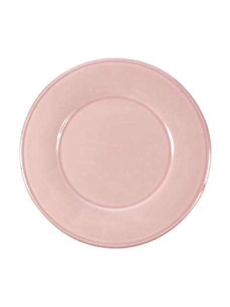 Piattino da dessert rosa Constance 2 pz, Gres, Rosa, Ø 24 cm