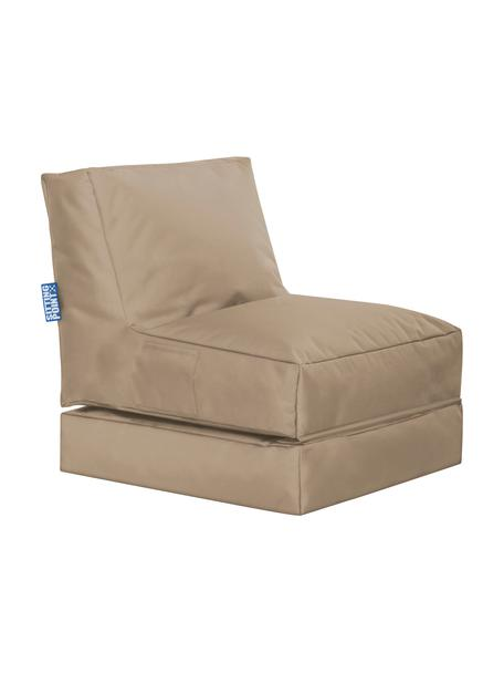 Sillón para exterior Pop Up, reclinable, Tapizado: 100%poliéster Interior c, Caqui, An 70 x Al 80 cm